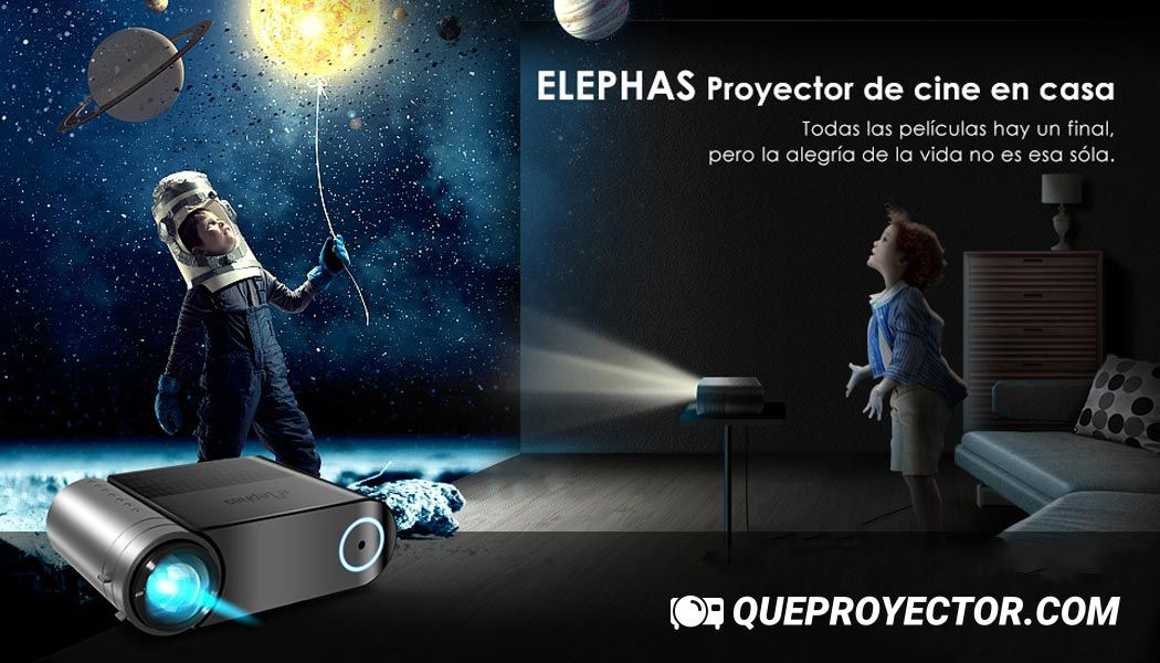Proyector Elephas YG420, proyector Elephas Full HD