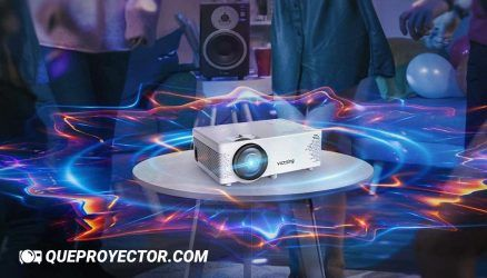 VicTsing BH400 » Opiniones del Proyector WiFi, VicTsing Mini Compatible con Bluetooth y 1080P Full HD