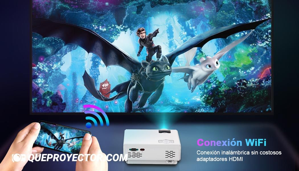 Proyector WiFi TOPTRO TR21