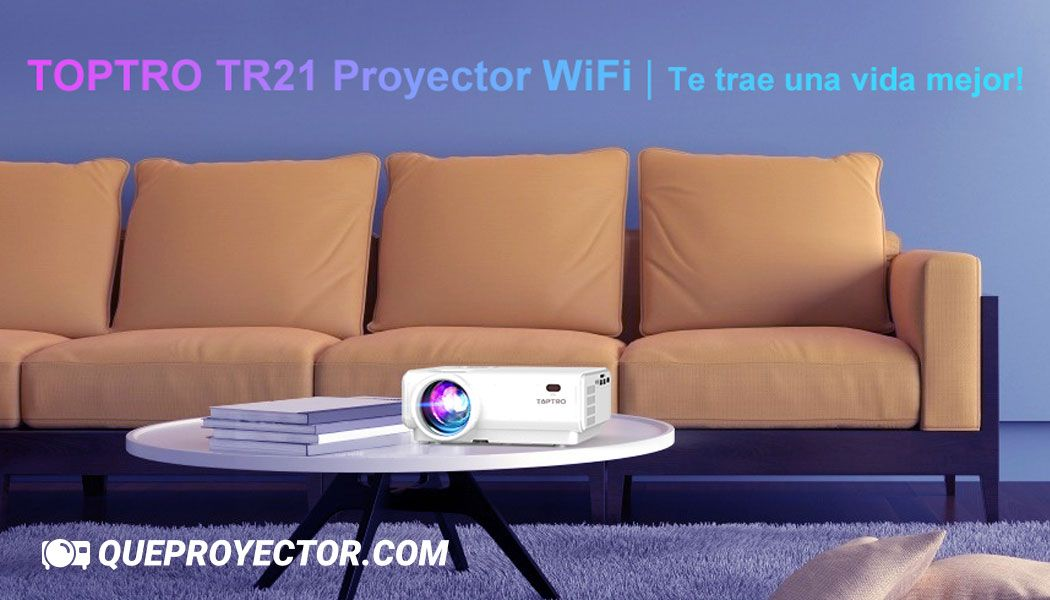 TOPTRO TR21 Proyector WIFI