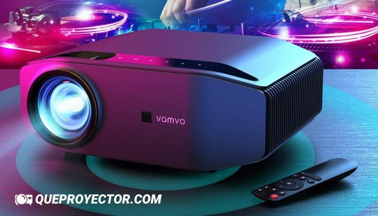 Vamvo L6200 » Opiniones del Proyector Nativo 1080p Full HD 6000 Lux con Dolby