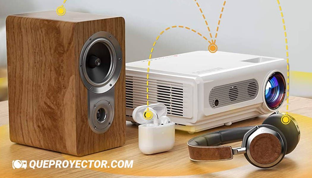 Proyector WiFi Bluetooth 1080P, WiMiUS S6
