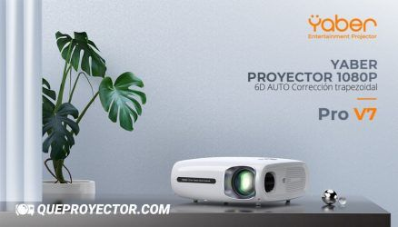YABER Pro V7 Opiniones » YABER Proyector Bluetooth Pro V7 9000L 5G Full HD 1080P WiFi